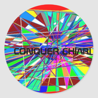 CHIARI CLASSIC ROUND STICKER