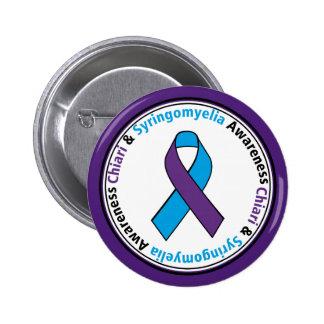 Chiari & Syringomyelia Awareness Ribbon Button