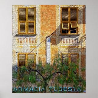 Chiavari Windows 'Oil Painting' Posters