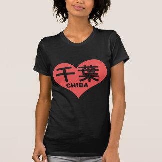 Chiba Heart T-shirts