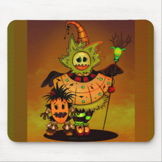 CHIBBI DOLLS ALIEN MONSTER CUTE CARTOON MOUSE PAD