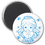 Chibi Angel Magnet