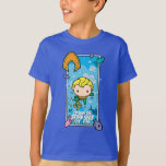Chibi Aquaman - I'll Swim The Seven Seas T-Shirt