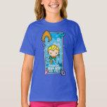 Chibi Aquaman - I'll Swim The Seven Seas T-Shirt