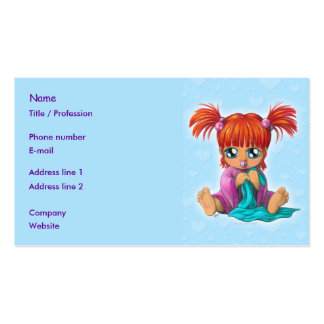 Chibi Baby Business Card Template