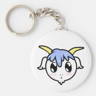 Chibi Baby Goat 2  Keychain