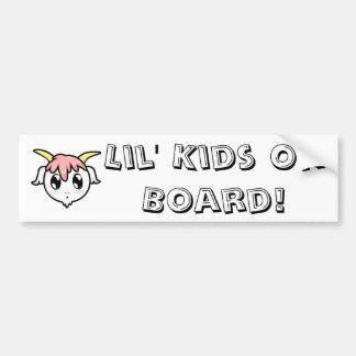 Chibi Baby Goat Bumper Sticker