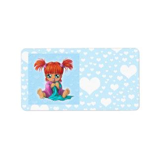 Chibi Baby Label