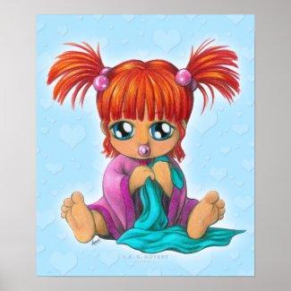 Chibi Baby Posters