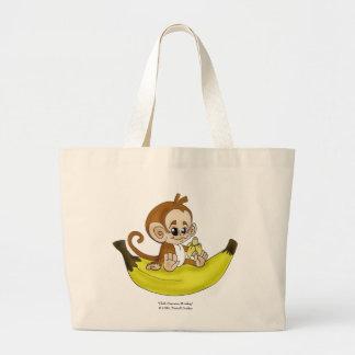"""CHIBI Banana Monkey"" Bag"