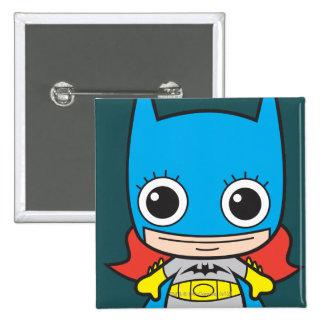 Chibi Batgirl 2 Inch Square Button