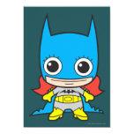 "Chibi Batgirl 5"" X 7"" Invitation Card"