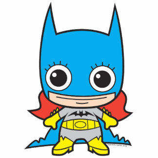 Chibi Batgirl Fotoescultura Vertical