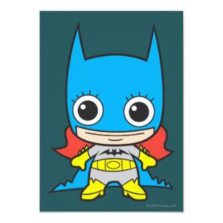 "Chibi Batgirl Invitación 5"" X 7"""