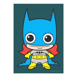 Chibi Batgirl Personalized Announcements