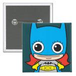 Chibi Batgirl Pin Cuadrada 5 Cm