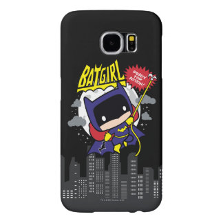Chibi Batgirl Ready For Action Samsung Galaxy S6 Case