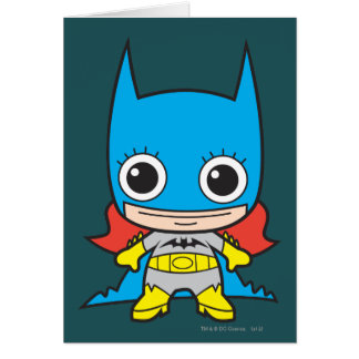 Chibi Batgirl Tarjeta