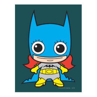 Chibi Batgirl Tarjetas Postales