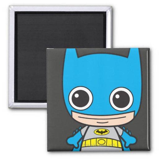 Chibi Batman Imán Cuadrado
