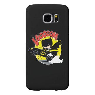 Chibi Batman In The Batmobile Samsung Galaxy S6 Case