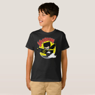 Chibi Batman In The Batmobile T-Shirt