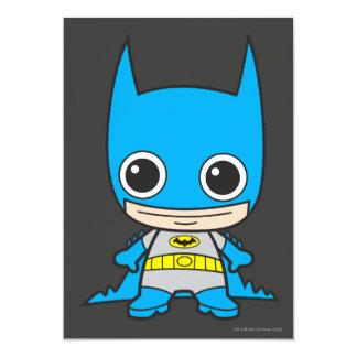 """Chibi Batman Invitación 5"""" X 7"""""""