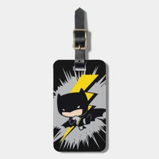 Chibi Batman Lightning Kick Bag Tag