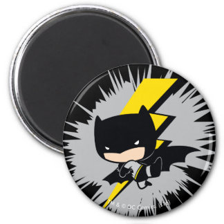 Chibi Batman Lightning Kick Magnet