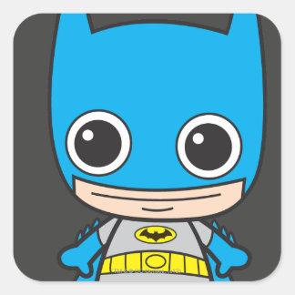 Chibi Batman Pegatinas Cuadradases Personalizadas