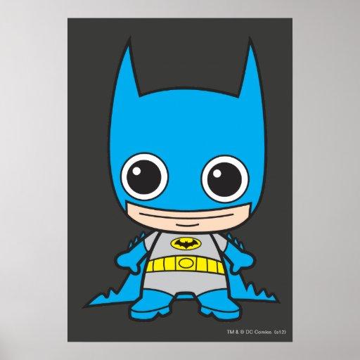 Chibi Batman Póster