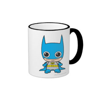 Chibi Batman Ringer Coffee Mug