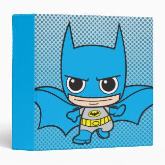 Chibi Batman Running 3 Ring Binder