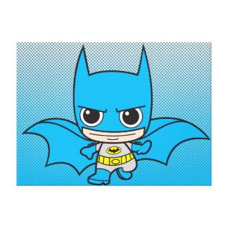 Chibi Batman Running Canvas Prints