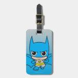 Chibi Batman Running Luggage Tags