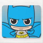 Chibi Batman Running Mouse Pad