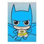 Chibi Batman Running Personalized Invitations