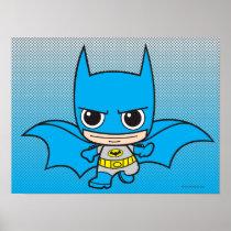 justice leauge, super hero, batman, robin, superman, cyborg, joker, chibi, japanese, toy, dc comics, comic book, Poster with custom graphic design