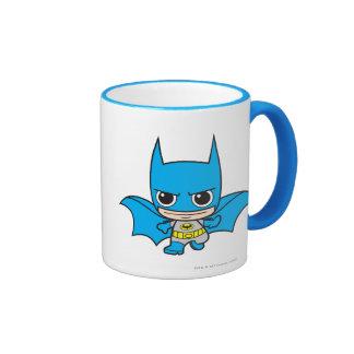 Chibi Batman Running Ringer Mug