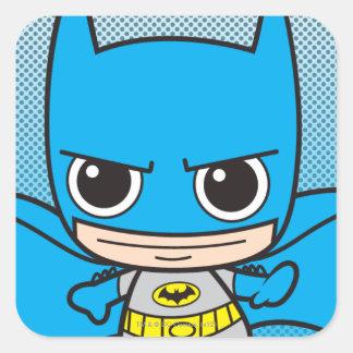 Chibi Batman Running Square Sticker