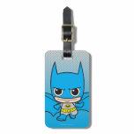 Chibi Batman Running Tags For Luggage