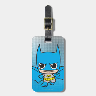 Chibi Batman Running Tags For Luggage