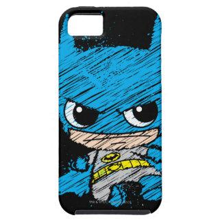 Chibi Batman Sketch iPhone SE/5/5s Case