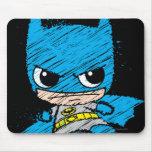 Chibi Batman Sketch Mouse Pad