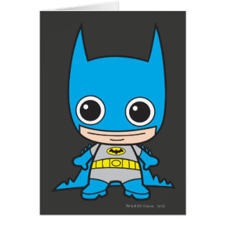 Chibi Batman Tarjeta De Felicitación