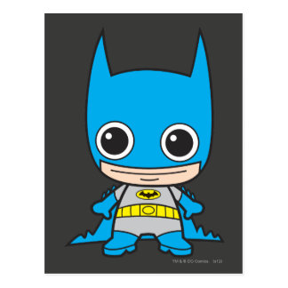 Chibi Batman Tarjetas Postales