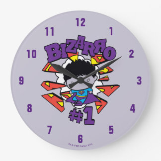 Chibi Bizarro #1 Large Clock
