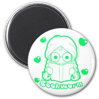 Chibi Bookworm Magnet