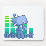 Chibi Bot Mouse Mouse Pad