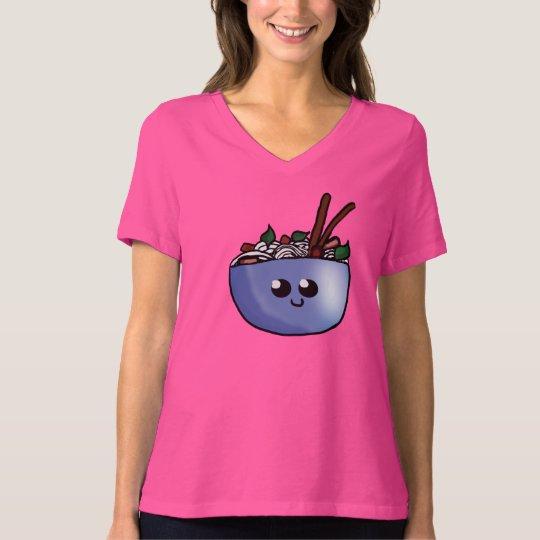 Chibi Bowl of Pho Woman's Shirt